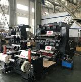 2개의 압박을 인쇄하는 기계 종이 봉지 Flexo를 인쇄하는 색깔에 의하여 길쌈되는 자루 부대 Flexo