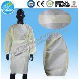 Robe chirurgicale standard stéréo jetable avec certificat certifié par la FDA