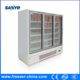 압축기 편리점 우수한 디자인 수직 유리제 문 냉각기를 연결하십시오