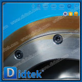 Verminderde Didtek API 6D droeg de Kogelklep van het Segment Met het Toestel van de Worm