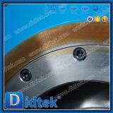 Didtek API 6Dはワームギヤが付いている穴セグメント球弁を減らした