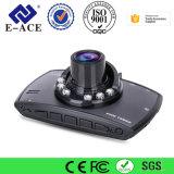 Deteção cheia do movimento da venda quente HD com o registrador da câmera do carro