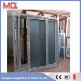 Puerta de vidrio de desplazamiento del cuarto de baño del tocador de UPVC