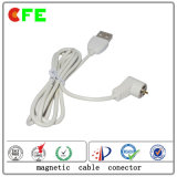 1pin impermeable cargador de conector magnético para productos eléctricos