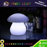 Cogumelo decorativa impermeável colorido ornamento LED Light