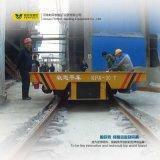 Carretilla de la transferencia de la plataforma de la capacidad de 10 toneladas para la fábrica resistente