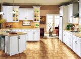 Het traditionele Witte Stevige Houten Ontwerp van de Keuken van de Keukenkast Amerikaanse