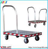 Carro de mano modelo de aluminio de la plataforma de Treadplate