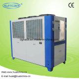 Refroidisseur d'eau industriel en forme de boîte refroidi par air