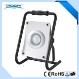 20W portátil recargable luz de trabajo LED