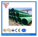 El cable del tubo de fibra anticorrosión de tubo de GRP FRP