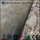 Impressão especial de couro em PVC para calçados, móveis, bolsas, luvas, vestuário