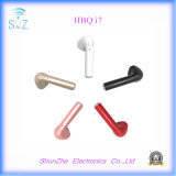 Trasduttore auricolare senza fili di Hbq I7 della cuffia avricolare di Bluetooth di stile di modo per il iPhone del telefono mobile