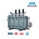 transformador inmerso en aceite de la distribución de potencia 10~35kv