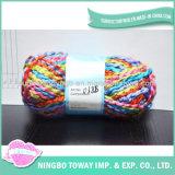 Filato di lavoro a maglia acrilico Pot-Bellied di immaginazione del tessuto della sciarpa