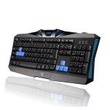 Верхний продавая связанный проволокой разыгрыш клавиатуры USB (KB-1801)