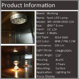 De LEIDENE Lichte Uitrustingen van de Vlek voor Kabinet, Garderobe en Meubilair