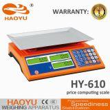 A escala de computação do grande preço do indicador 610 com IP65 Waterproof e Dustproof