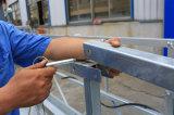 Zlp500 Revêtement en poudre Vitrage en acier Construction Gondole