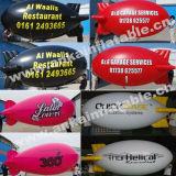 Piccolo dirigibile stampato gonfiabile di prezzi di fabbrica per la pubblicità