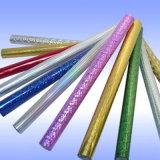 Impresión colorida lámina Hot Stamping Película holográfica de cuero
