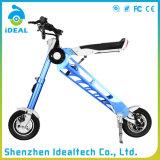 """Duas rodas 25km/H """"trotinette"""" esperto dobrado 10 polegadas da mobilidade elétrica"""
