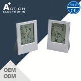 Relógio de Mesa Digital LCD multifunção com temporizador e temperatura
