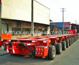 유압 모듈 트레일러 100-200 톤 다중 차축