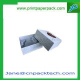 Parfum cosmétique de cadeau fait sur commande de papier enduit empaquetant le cadre emboîté