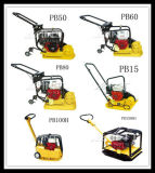 Pb100h Compactador de placa de vibração bidirecional hidraulico para construção
