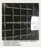 Steinzerkleinerungsmaschine-Bildschirm-Ineinander greifen mit Material 65mn