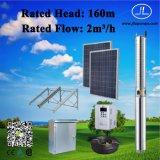 4inch het zonneSysteem Met duikvermogen van de Pomp, het Systeem van de 2.2kwgelijkstroom Pomp