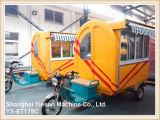 Chariots mobiles de nourriture de chariot de nourriture de vélo de Ys-Et175c