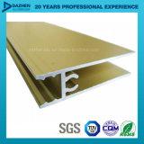 6063 a personnalisé le profil anodisé paraluminium en aluminium pour le tissu pour rideaux de porte de guichet