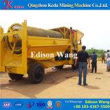 Trommel de lavagem do ouro do equipamento de mineração do ouro do Placer