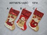 Kous-Kerstmis van Kerstmis van de fonkeling Decoratie