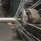 Máquina del tejido del alambre para el tubo flexible