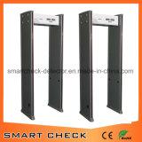Detector de metais barato Detector de metais com 6 localizações de metrô Walk By Metal Detector