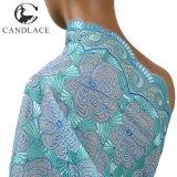 Nuovo tessuto del merletto del ricamo del cotone di modo