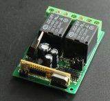 보편적인 수신기 2 채널 통신로 12V/24V Hcs301 수신기