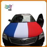 Bandiera del coperchio del cappuccio dell'automobile della bandierina del tessuto 120*145cm Portogallo dello Spandex