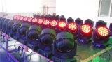 Ojos de la abeja del poder más elevado LED 19*12W que mueven la pista y la luz de la etapa