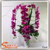 Fiori della seta artificiale della decorazione di cerimonia nuziale della plastica e di alta qualità