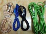 Kleurrijk pvc isoleerde de Kabel van de Bliksem USB van 8 Speld met Universele Schakelaar