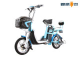 Dame Smart Electric Bicycle Double Zetels met Pedaal 6 het Controlemechanisme van Buizen