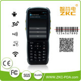 NFC WiFi Bluetooth Unicom 3G를 가진 소형 산업 PDA 휴대용 데이터 단말기