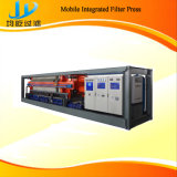 Imprensa de filtro Integrated móvel do feixe Cantilever