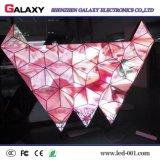 Programável Curvo fixo/Flexível/Interior/Exterior Dobrável Visor LED para publicidade/ruas comerciais de decoração, lojas, hotéis, Estágio
