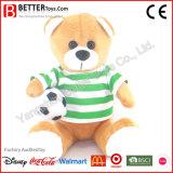 승진 선물 박제 동물 아이를 위한 연약한 장난감 곰 견면 벨벳 장난감