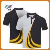 De bulk T-shirt van het Polo 40%Polyester 180GSM van de Douane 60%Cotton (hYT-S 04)